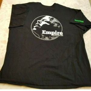 "Gildan Mens 2XL ""Empire Construction"" Slogan Tee"